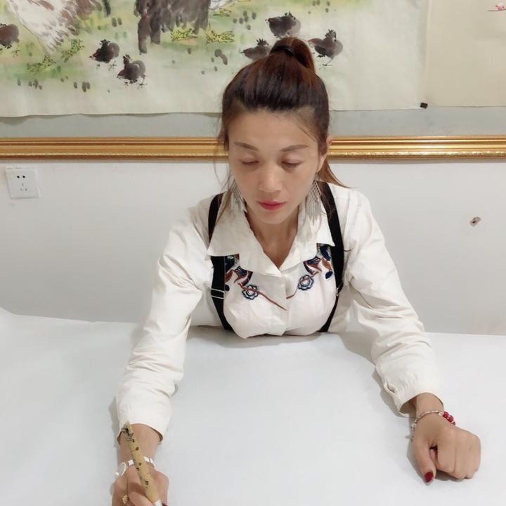 民权县孙改丽字画